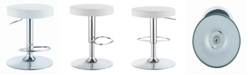 Coaster Home Furnishings Chandler Round Adjustable Height Bar Stool