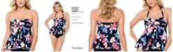 Swim Solutions Flyaway Tankini Top, Created for Macy's