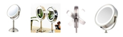 """OVENTE 7"""" Lighted Makeup Mirror with Cool Led Lighting"""
