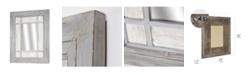 Crystal Art Gallery American Art Decor Rustic Wood Window Wall Mirror