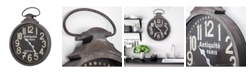 Crystal Art Gallery American Art Decor Antiquite De Paris Pocket Watch Wall Clock