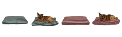 Carolina Pet Company Striped Faux Gusset Jamison Indoor/Outdoor Dog Bed