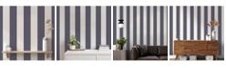 Tempaper Stripe Self-Adhesive Wallpaper