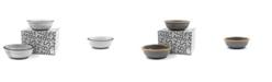 BOMSHBEE Tinge Clay Bowl - Set of 2