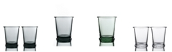 BOMSHBEE Ring Double Old Fashioned Glasses - Set of 2