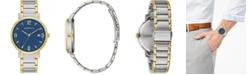 Caravelle Men's Two-Tone Stainless Steel Bracelet Watch 39mm