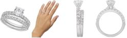 Macy's Certified Diamond Bridal Set (2 ct. t.w.) in 14k White Gold