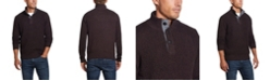 Weatherproof Vintage Men's Button Mock Sweater