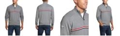Weatherproof Vintage Men's Small Chest Stripe 1/4 Zip Sweater