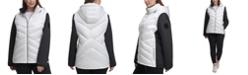 Calvin Klein Plus Size Hooded Jacket