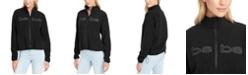 bebe Plus Size Sport Women's Polar Fleece Zip Jacket