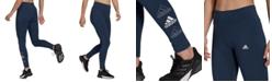 adidas Women's Essentials Stacked Logo High-Rise Leggings