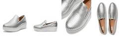FitFlop Women's Superskate Metallic Raffia Loafers