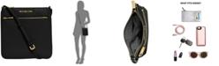 Michael Kors Riley Pebble Leather Crossbody