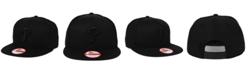New Era Philadelphia Phillies Black on Black 9FIFTY Snapback Cap