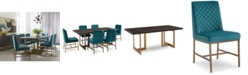 Furniture Cambridge Dining Furniture, 7-Pc. Set (Dining Table & 6 Side Chairs), Created for Macy's