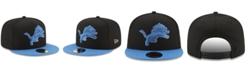 New Era Detroit Lions Heather Pop 9FIFTY Snapback Cap