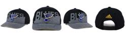 adidas St. Louis Blues Slashing Adjustable Cap