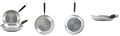 Anolon Tri-Ply Stainless Steel 2-Pc. French Skillet Set