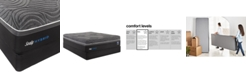 """Sealy Silver Chill 14"""" Hybrid Firm Mattress Set- King"""