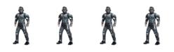 BuySeasons Halo Spartan Locke Classic Muscle Little and Big Boys Costume