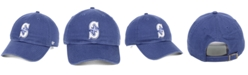 '47 Brand Seattle Mariners Timber Blue CLEAN UP Strapback Cap