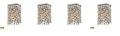 ELK Lighting Agate Stones 1 Light Vanity in Weathered Bronze with Gray Agate Stones