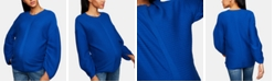 A Pea in the Pod Maternity Ruched-Sleeve Sweater