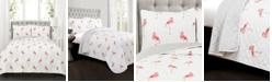 Lush Decor Kelly Flamingo 3-Pc Set Full/Queen Quilt Set