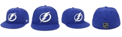 Authentic NHL Headwear Tampa Bay Lightning Basic Fan Fitted Cap