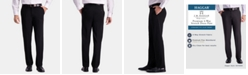 Haggar J.M. Men's Straight-Fit 4-Way Stretch Flat-Front Dress Pants