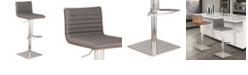 Armen Living Cafe Adjustable Barstool