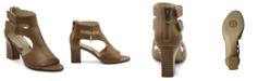Adrienne Vittadini Women's Rea Block Heel Sandals