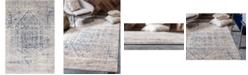 Bridgeport Home Odette Ode1 Gray 4' x 6' Area Rug