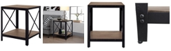 Gallerie Decor Industrial Side table