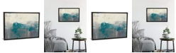 "iCanvas Teal Range Ii by Jennifer Goldberger Gallery-Wrapped Canvas Print - 26"" x 40"" x 0.75"""