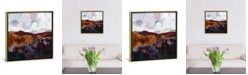 """iCanvas Distant Light by Spacefrog Designs Gallery-Wrapped Canvas Print - 18"""" x 18"""" x 0.75"""""""