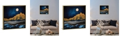 "iCanvas Midnight Desert by Spacefrog Designs Gallery-Wrapped Canvas Print - 26"" x 26"" x 0.75"""