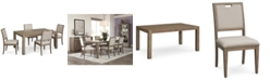 Furniture Melbourne Dining Furniture, 5-Pc. Set (Expandable Table & 4 Side Chairs)