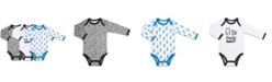 The Peanutshell Baby Boy Let's Play Long Sleeve Bodysuit 3 Pack Set