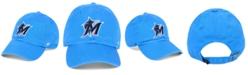 '47 Brand Miami Marlins Core CLEAN UP Strapback Cap