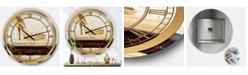 Designart Posh and Luxe Oversized Metal Wall Clock