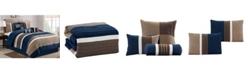 Luxlen Washington 7 Piece Comforter Set, Cal King