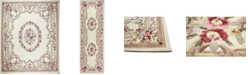 KM Home CLOSEOUT! Palace Garden Aubusson Cream Area Rug Collection