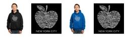 LA Pop Art Boy's Word Art Hoodies - Neighborhoods in NYC