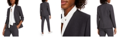 Bar III Collarless Open-Front Blazer, Created for Macy's