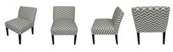 Sole Designs Chloe Modern Accent Chair