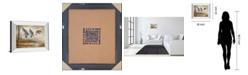 "Classy Art Pintails Mirror Framed Print Wall Art - 22"" x 26"""