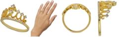 Macy's Diamond Tiara Ring (1/3 ct. t.w.) in 14k Gold