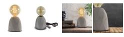 Crystal Art Gallery American Art Decor Small Stylish Modern Geometric Pattern Concrete Accent Table Lamp